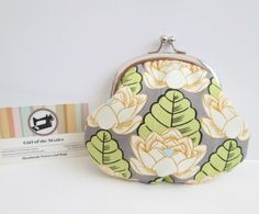 Coin purse with clasp £8.50