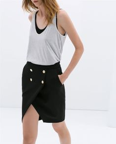 Image 1 of PLEATED MINI SKIRT from Zara | Style | Pinterest | Mini ...
