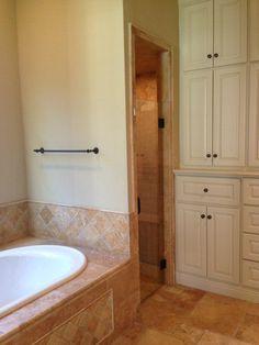 Travertine in bathroom ideas