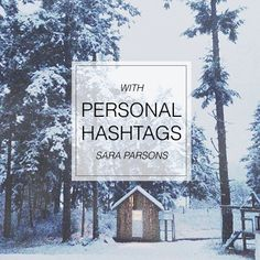 An interview with Sara Parsons on how she uses personal hashtags to organize and document her family photos. Part of SnapShop Photography: a subscription based photography website. #onlinephotographyclass