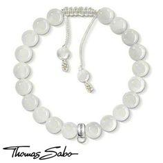 Thomas Sabo White Agate Carrier Bracelet