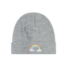 3986d544e29b3 LOCAL HEROES Rainbow beanie ( 29) ❤ liked on Polyvore featuring  accessories