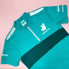 1fb37b860fb02 Deliveroo top Good condition turquoise blue Deliveroo with - Depop  Conditioner
