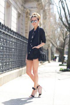 Karen Kane Blazer Outfit Idea