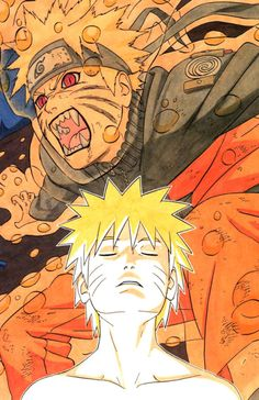Naruto vs Nine tails form