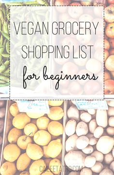 The ultimate vegan shopping list for beginners