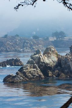 Beautiful Point Lobos State Reserve near Monterey, California #pointlobos #travel