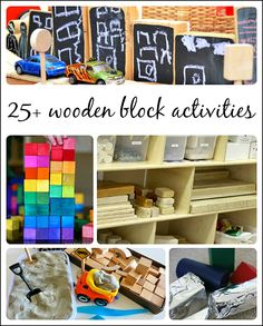 engaging wooden block activities for preschoolers. What's really great is how much language interaction you can generate during block play. Block Center Preschool, Preschool Centers, Preschool Lessons, Preschool Classroom, Preschool Learning, Teaching, Preschool Education, Classroom Ideas, Kindergarten