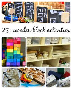 25+ Wooden Block Activities For Preschoolers
