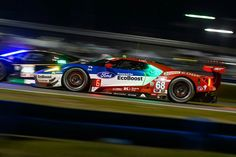 Ford Gt At Daytona
