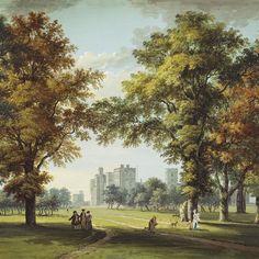 Great Park View   Digitales Wandbild Von Designers Guild Paneele,  Textilien, Moderne Wandgestaltung,
