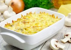 How to Make Potato Tray with Vegetables – Delicious potato wi … - Recipes for dinner easy and healthy Vegetable Recipes, Vegetarian Recipes, Cooking Recipes, How To Make Potatoes, Mouth Watering Food, Feta, Macaroni And Cheese, Dinner Recipes, Good Food
