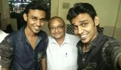 With my best promoters Mr Arun & Mr Aravind, very sharp twins..!