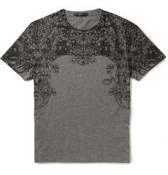 Gucci Printed Cotton-Jersey T-Shirt   MR PORTER
