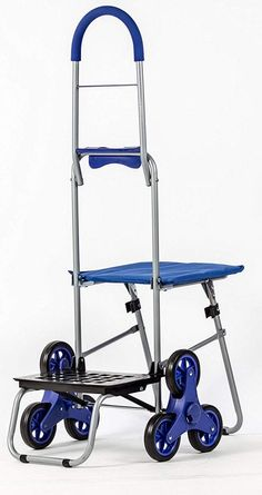 dbest products Stair Climber Bigger Trolley Dolly Shopping