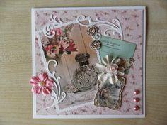 Sindelicious papercraft: Romantische Vintage Tres Chic kaarten - Romantic c...