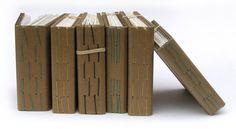 Associazione filo di marrone scuro Handbound libro di robayre