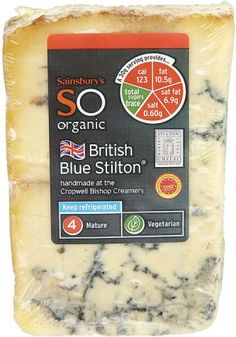 Sainsbury's Organic Blue Stilton (200g)