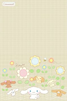 """brown """"A day on Prairie"""", as collected via Sanrio (@ Nadine) Melody Hello Kitty, My Melody, Sanrio Wallpaper, Iphone Wallpaper, Iphone Backgrounds, Pochacco, Cute Stationary, Kawaii, Letter Set"""