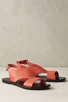 Sugared Coral Sandals