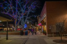Christmas lights Downtown Grand Junction