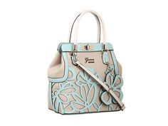 GUESS Floren Small Satchel Stone Multi - Zappos.com Free Shipping BOTH Ways