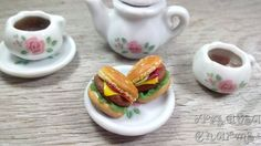 Hey, I found this really awesome Etsy listing at https://www.etsy.com/listing/225995066/hamburger-earrings-hamburger-studs