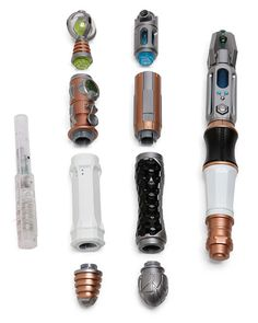 Doctor Who build your own sonic screwdriver set $39.99 for serious Whovians everywhere.