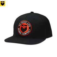 Represent your beard the right way, with No Shave Life Headwear! This snapback cap is made of 85% Acrylic and 15% Wool and is manufactured with high quality materials and extra details.  Beard on! Beard apparel for Bearded! Noshavelife.com