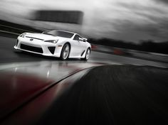 How would you like to hit the highway in an LFA? #Lexus