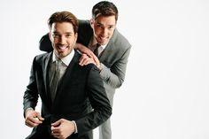 Los talentosos hermanos Scott, muy elegantes!