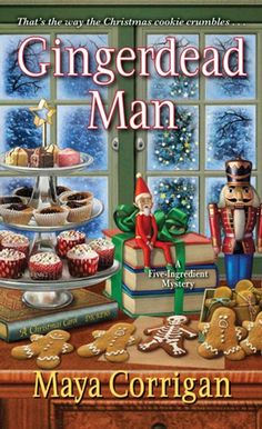 "Read ""Gingerdead Man"" by Maya Corrigan available from Rakuten Kobo. When Santa is sleighed by a poison gingerbread cookie at a holiday party, Val Deniston's reputation is on the line . Murder Mysteries, Cozy Mysteries, Christmas Books, Christmas Time, Christmas Images, Merry Christmas, Maya, Ghost Of Christmas Present, Kensington Books"