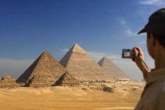 Pirámides de Giza (Egipto). De la Alhambra al Taj Mahal, monumentos que celebran el genio humano