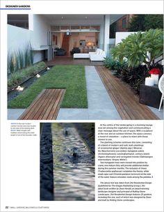 Courtyard Landscape Design Ideas - All For Garden Home Garden Design, Backyard Garden Design, Diy Garden, Garden Landscape Design, Small Garden Design, Garden Tips, Courtyard Landscaping, Front Yard Landscaping, Landscaping Ideas