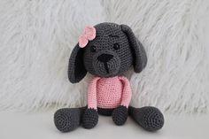 Amigurumi Spielzeug Hündin Nala | Etsy Hello Kitty, Baby, Teddy Bear, Toys, Handmade, Character, Animals, Amigurumi, Doggies