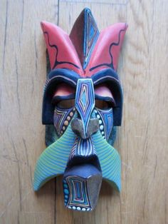Boruca Indian masks, Costa Rica