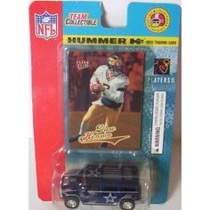 2004 Team Collectible - Drew Henson - Hummer H2 & Ultra Limited Edition Card - University of Michigan - Dallas Cowboys - NFL Football Card & Die Cast (Fleer Diecast) by Fleer   $8.97