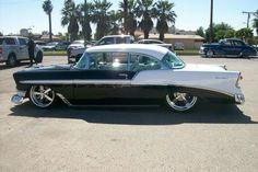 ◆ Visit MACHINE Shop Café ◆ (1956 Chevrolet Bel Air Coupé)