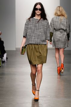 Karen Walker Fall 2013 Ready-to-Wear Collection Slideshow on Style.com