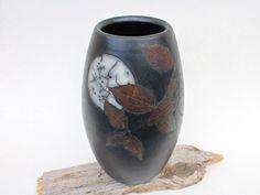 Vasen - Vase Vollmond, Raku Keramik - ein Designerstück von gefaessefuergedanken bei DaWanda