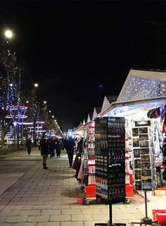 Impressões de Viagens: Mercado de Natal em Paris