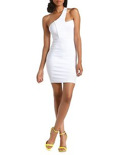 Charlotte russe white dress with sequins