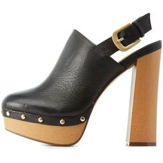 Report Platform Clog Heels ($77) ❤ liked on Polyvore featuring shoes, clogs, heels, black, vegan clogs, black shoes, vegan shoes, platform clogs and black platform shoes