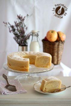 Bizcocho Francés de Manzanas Best Cake Recipes, Pound Cake Recipes, Sweet Recipes, Dessert Recipes, Desserts, Cake & Co, Eat Cake, Choco Chocolate, Classic Cake