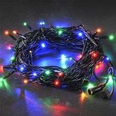 Konstsmide 4610-500 Coloured Connectable Christmas Lights - 100 LEDs