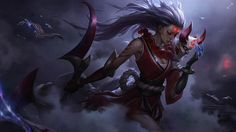 A blood moon is rising. | League of Legends