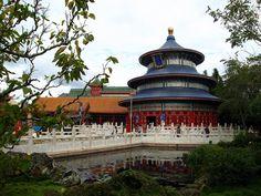 Epcot - China Pavilion by Kwong Yee Cheng, via Flickr