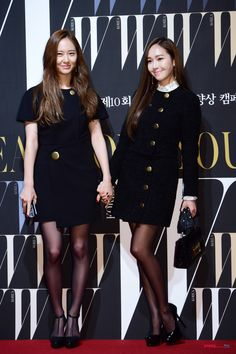 [On the Event] Jessica & Krystal, W Korea and... | Poppy Ent
