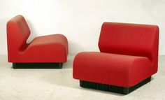 $586 / (Two piece) Modular sofa by Don Chadwick for sale at Deconet
