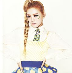 Lizzy (Orange Caramel) | official concept photo for 'Lipstick' #AfterSchool